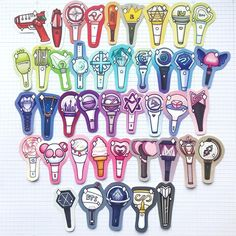 Kpop Tattoos, Kpop Logos, Fandom Kpop, Pop Stickers, Korean Products, Diy Crafts To Do, Kpop Drawings, Bullet Journal Ideas Pages, Pentagon