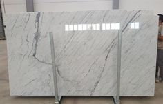 Statuario vena fine marble slabs available in stock, big size, polished surface, 20mm thick Statuario Marble, Marble Slabs, White Marble, Hardwood Floors, Surface, Stone, Big, Home Decor, Wood Floor Tiles