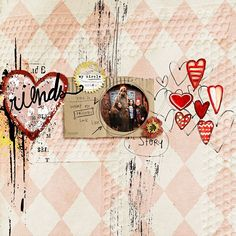 digital layout made by Flor using Dear Karma No2 Innercircle kit and paint collab by Little Butterfly Wings and Etc Danyale,  Hopeless in Love elements by Little Butterfly Wings