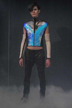 futuristic men's fashion Yuima Nakazato Fall 2012