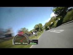"""La Gran Carrera """"TT isle of Man 2012"""" motos a más de 320kmh. Alucinante"""