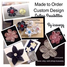 Groom's boutonnière - Men's Lapel Pin/Fabric Flower/Boutonniere/Tie Tack/Men's Brooch/Hand Stitched/Hand Sewn/Handmade Kanzashi Flower Lapel Pin/MADE TO ORDER by icusuezq on Etsy https://www.etsy.com/listing/280212062/mens-lapel-pinfabric