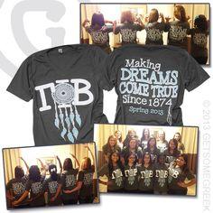 Tshirt design gamma phi beta