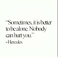 Hercules Wisdom alone single quotes