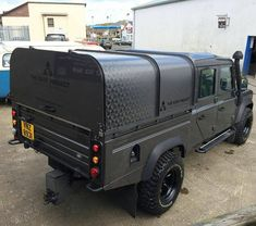 The mighty Defender 130 Crew Cab By Land Rover Defender 130, Landrover Defender, Bug Out Vehicle, Expedition Vehicle, Station Wagon, Range Rover, Land Rovers, Defenders, Vehicles