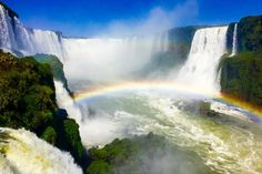 Many thanks to our new Contributing Photographer, Cristiano Ceruti, for his lovely photo taken of the Iguazu Falls in Brazil!