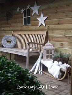Outdoor Christmas Garden Inspiration ♥ Kerst Tuin Inspiratie #Fonteyn:
