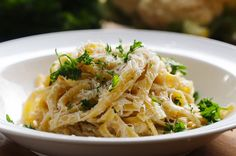This Lighter Alfredo Sauce Is Made With Cauliflower And It's Gonna Blow Your Mind
