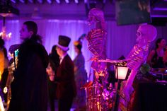 Halloween Party decorations planned by Merryl Brown Events