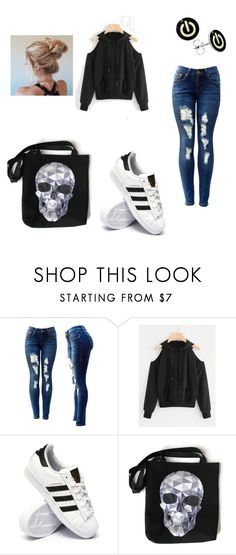 """""""xD"""" by mihaelapreda ❤ liked on Polyvore featuring adidas"""