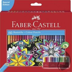 1ad38b0ff0b Faber-Castell šestihranné pastelky - sada 60 ks - SPECIÁLNÍ EDICE