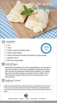 Receita de pão de queijo de frigideria do Blog da Mimis - Pensa numa delícia, deliciosa, maravilhosa, saudável e magrinha! Pensou? Tá aí! O pão de queijo de frigideira, crepioca ou panqueca de tapioca tá conquistando geral!