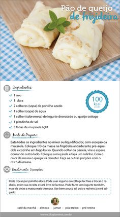 O pão de queijo de frigideira, crepioca ou panqueca de tapioca tá conquistando geral!
