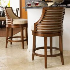 Tommy Bahama Ocean Club Cabana Swivel Counter Stool - Dining Chairs at Hayneedle