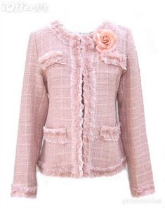 Pink Chanel Jacket...Classic