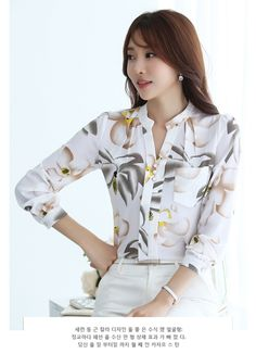 Women's Korean Fashion Chiffon V-Neck Blouse High quality, elegant and stylishKorean fashion with this gorgeous and comfortable blouse. Brand Name: SURE XIAO STORY Sleeve Length: Full Material: Spandex, Polyester Fabric Type: Broadcloth Style: Formal Collar: Stand Decoration: None Pattern Type: Print Clothing Length: Regular Sleeve Style: Regular Size measurement error...