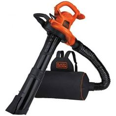 BLACK+DECKER Corded Electric Leaf Blower (Vacuum Kit Included) at Lowe's. Conquer yard work with the easy to wear VACPACK™ Leaf Blower, Vacuum, and Mulcher. It dominates debris with up to 250 MPH of blowing velocity Backpack Vacuum, Backpack Bags, Bags Of Mulch, Home Vegetable Garden, Cool Backpacks, Leaf Blower, Fashion Week, Bag Making, Outdoor Power Equipment