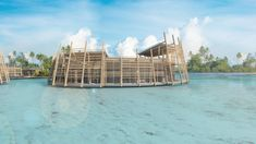 Floating Architecture, House Address, Fish Farming, Floating House, Urban Planning, Experiential, Pacific Ocean, Rooftop, Fresh Water