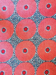 From Middlesex Textiles - West African Fashion specialist........love dots and circles