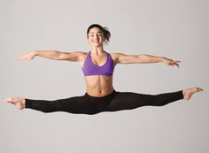 Broadway Dance Center's Tracie Stanfield offers her tips on nailing the perfect side leap. (Photo by Erin Baiano)