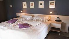 Double modern bedroom