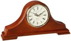Seiko Mantel Chime Clock Dark Brown Solid Oak tambour Case Seiko http://smile.amazon.com/dp/B0027FGBIQ/ref=cm_sw_r_pi_dp_sUMbxb084JVXF