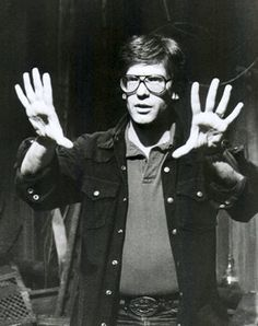A young David Cronenberg