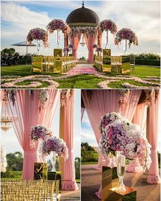 """12.6k Likes, 73 Comments - WedMeGood.com (@wedmegood) on Instagram: """"Such a stunning Mandap setting !!! Pinterest pick of the week ( hope yr following us there ?₹…"""""""
