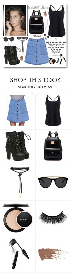 """""""Rosegal 8"""" by cindy88 ❤ liked on Polyvore featuring Smoke x Mirrors, MAC Cosmetics, Lancôme, MANGO and rosegal"""