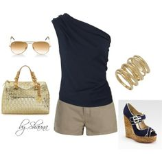 chic summer, created by shauna-rogers on Polyvore