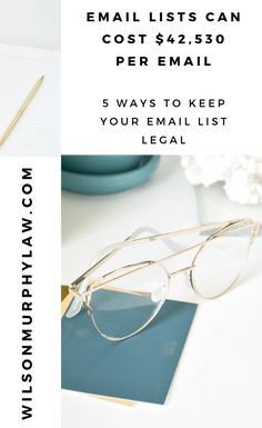 5 ways to build your email list legally - Wilson Murphy Law, P. Email Marketing Companies, Email Marketing Strategy, How To Start A Blog, How To Find Out, How To Make Money, Best Email, Your Email, Murphy Law, How To Protect Yourself