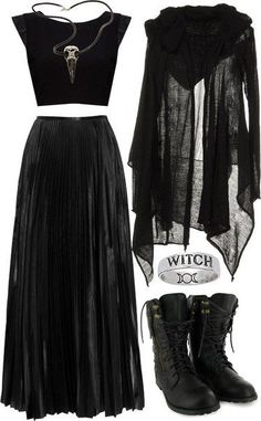 Pinterest: @MagicAndCats ☾ Sans witch ring