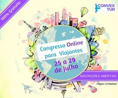 ConvexTur - Congresso para Viajantes Totalmente Online e Gratuito