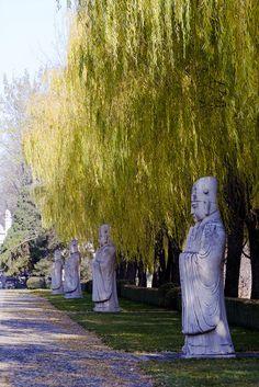 Ming Tombs, Beijing, China by storyvillegirl, via Flickr