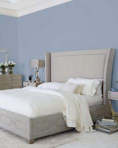 99455ba0abe0d Bernhardt Criteria Wingback Upholstered Queen Bed. Upholstered BedsWingback BedBed  FrameKing ...