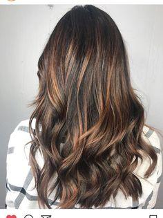 Caramel balayage #hair #balayage #caramel #goals