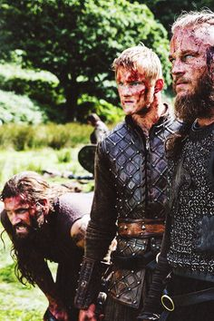 Rollo,Bjorn & Ragnar(dad)