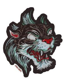 Lethal Threat embroidered patches are the most detailed and sought after patches in the Biker market place. Each patch has a heat seal backing for iron on appli Panther, Lion Sculpture, Statue, Medium, Animals, Art, Art Background, Animales, Animaux