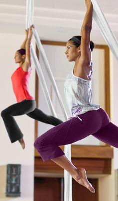 Athleta-aerial silks
