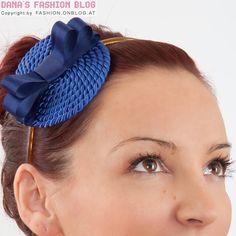 DIY Tutorial 11: Hat-Headband Made of Satin Ribbon and Cord DIY - Outfits, Shoes & Accessories Dana's Fashion Blog