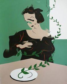 Woman-2 Saatchi Art, Disney Characters, Fictional Characters, Art Prints, Disney Princess, Artist, Painting, Woman, Artists