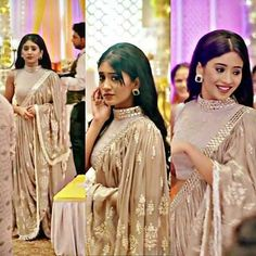 aka looking in the truly a diva Choli Dress, Saree Gown, Stylish Sarees, Stylish Dresses, Indian Designer Outfits, Designer Dresses, Choli Designs, Kurti Designs Party Wear, Nude Dress