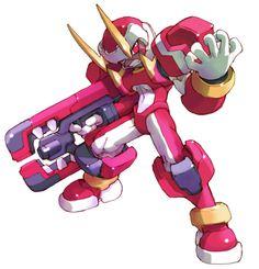Fefnir - Characters & Art - Mega Man Zero