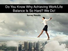 Do You Know Why Achieving Work/Life Balance is so Hard? We Do! [Survey Results] by domain .ME #MeDay #ad