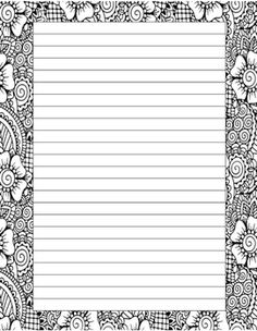 pin by muse printables on stationery at pinterest paper writing paper. Black Bedroom Furniture Sets. Home Design Ideas