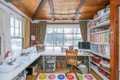 Sewing Room Ideas #7 Cottage Home Themed | Organized Sewing Room Ideas to Inspire You