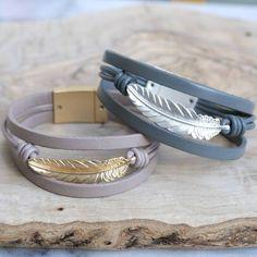Bracelet plume tendance 2017