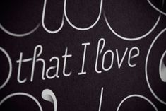 I Hate That I Love You so Much by Jordan Metcalf, via Behance