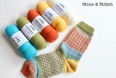 Socke No 2 ♥ Anleitung von Stine & Stitch ♥ bei DaWanda und Ravelry erhältlich