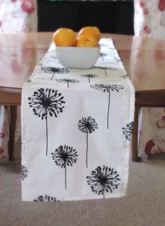 Black TABLE RUNNER.Black Table RunnerBLack Wedding by KikoyChic, $16.00